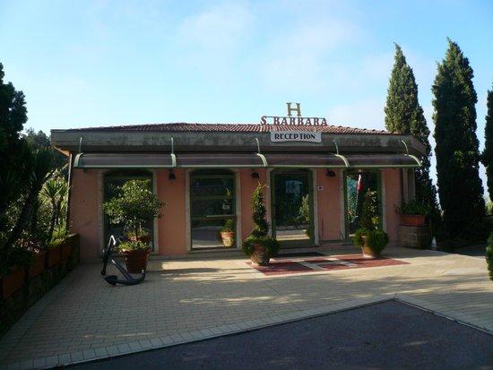Albergo Santa Barbara: Recepcja