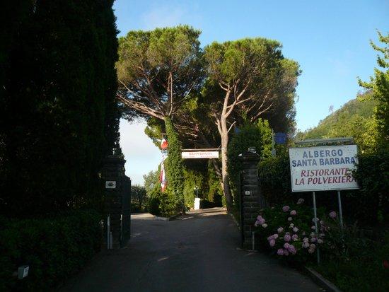 Albergo Santa Barbara: otoczenie hotelu