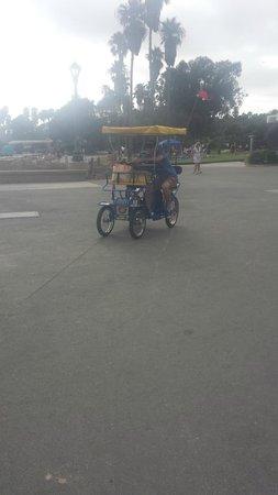 Dana Point, CA: Hiring the 4 week bike