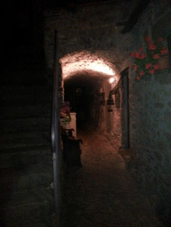 Agriturismo Saudon: couloir d'accès