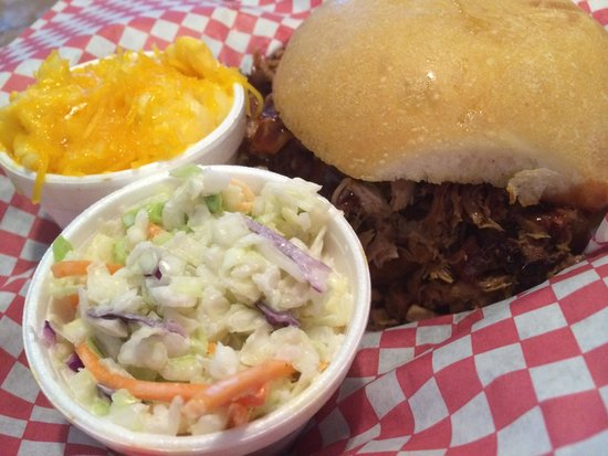 Slap Ya Momma's Barbeque Smoke House: Pulled pork sandwich was exceptional