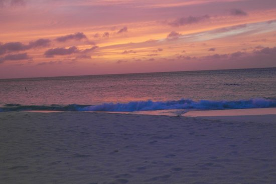 Bucuti & Tara Beach Resort Aruba: Beach at Sunset