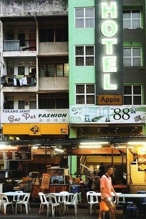 Bintang Walk : The less fancy side.