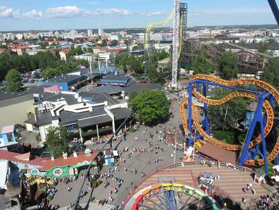 Linnanmaki Amusement Park: Old & new rides & amusements & SeaLife Aquarium