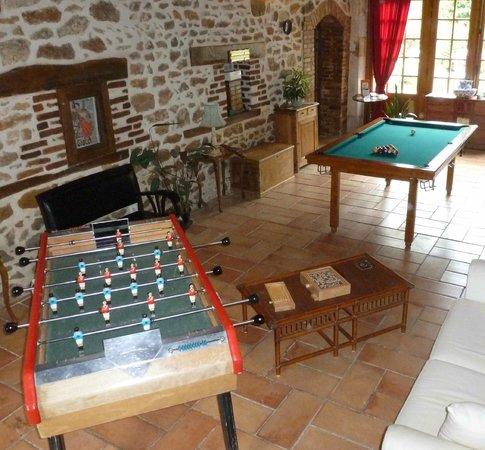 Domaine De Varenne: Salle de jeux