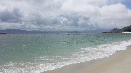 Barco Islas Cíes - Cruceros Rias Baixas: Main beach