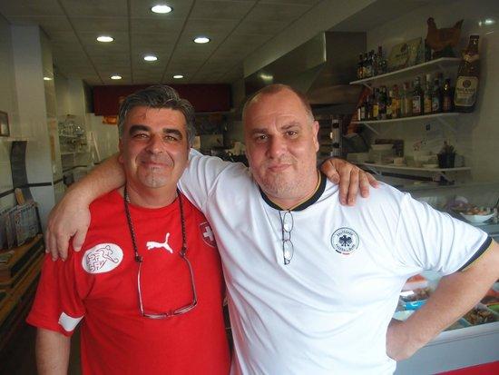 La Boutique Del Pollito : Our Friendly Hosts