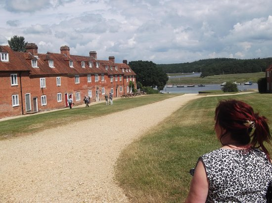 Buckler's Hard: The view!!!