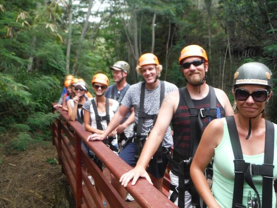 Koloa Zipline: Make the most of your zipline group