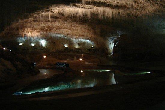 Grotte de Choranche : Salle Cathédrale