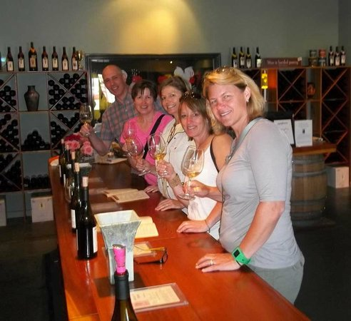 Dry Creek Valley Wine Tours: Happy Tasters!