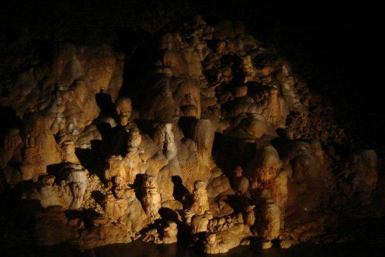 Grotte de Choranche : Salle de la cathédrale
