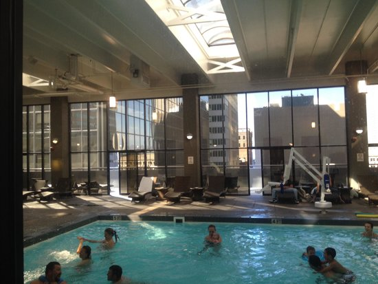 Pool picture of grand hyatt denver downtown denver for Pool show in melbourne