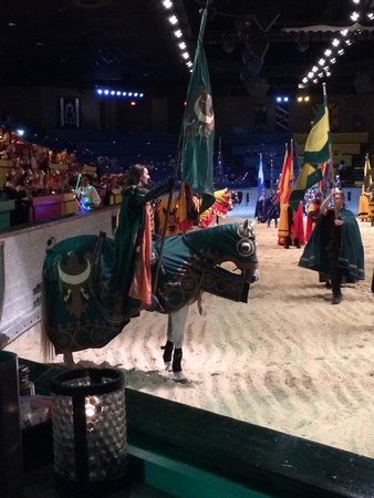 Medieval Times : Our green knight