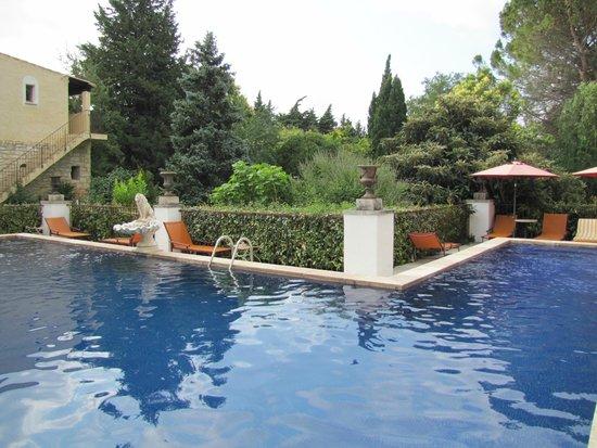 Mas de la Chapelle : Area de piscina