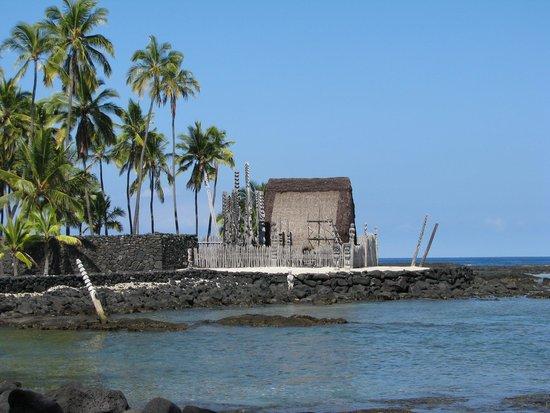 Pu'uhonua O Honaunau National Historical Park : A View of One of the Displays