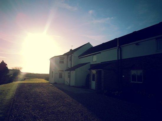 Deighton Lodge: sunrise