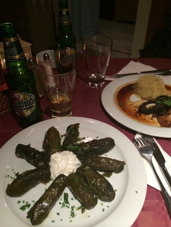 Kyprida Restaurant: Dinner