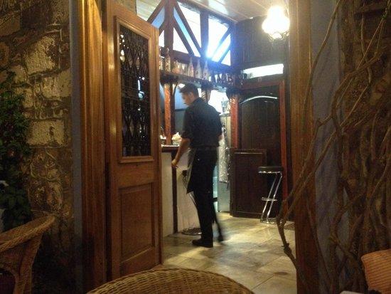 Sansibal Restaurant : Entrance to kitchen.