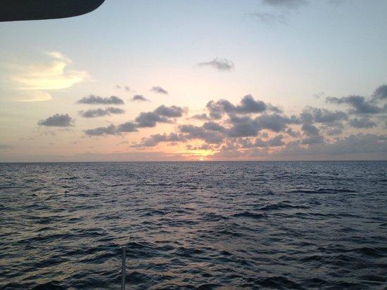 Windjammer Landing Villa Beach Resort: Sunset Cruise on Friday Nights