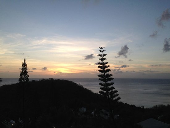 Windjammer Landing Villa Beach Resort: View from Room 123