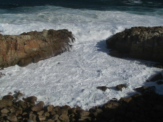 Robberg Nature Reserve: The sea turned to a milkshake