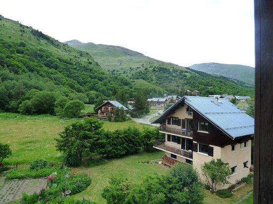 Hotel Relais du Galibier : vue de la chambre