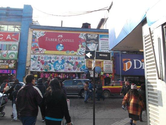 Santiago de Chile, Barrio Meiggs. Calle Meiggs.