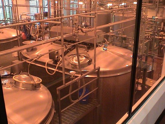 Tillamook Cheese Factory : Those are large vats!