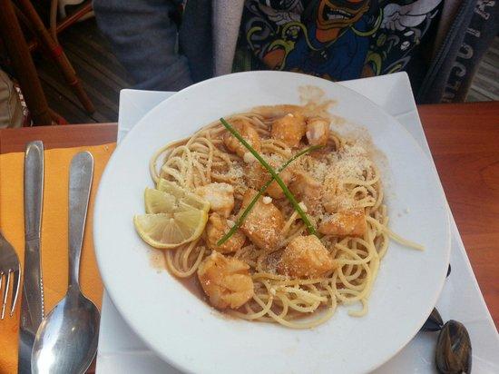La Belle Epoque pastati & Patatate: Pasta al pesce