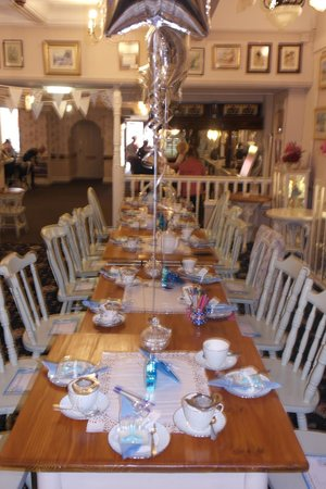 The Old Vestry Tearooms: Ready For Baby Shower Guests