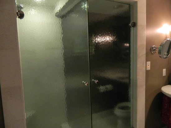 Mansion on Forsyth Park, Autograph Collection: Shower/Toliet area - See through