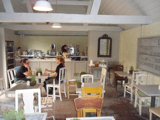Woolbeding Gardens: Enjoy tea in our cafe
