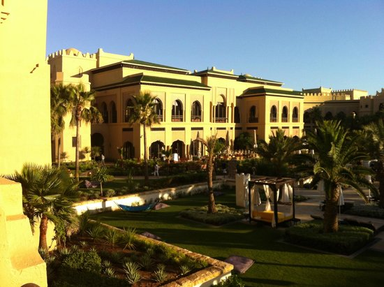 Mazagan Beach & Golf Resort: Vue de la chambre