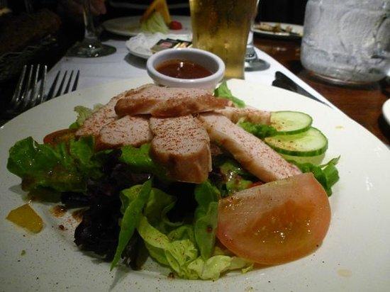 Park Hotel & Leisure Centre : Chicken starter