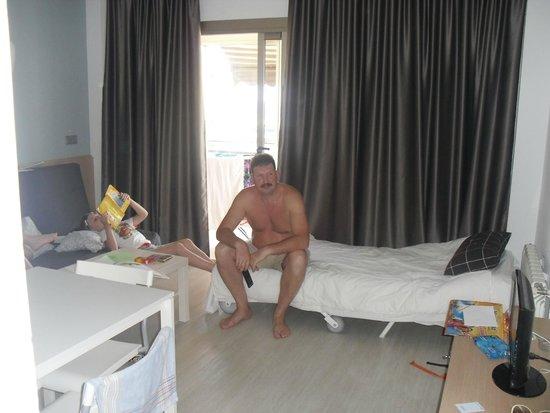 Apartamentos Atlántida: гостиная