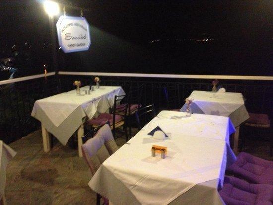 Sansibal Restaurant : Terrace in the back.