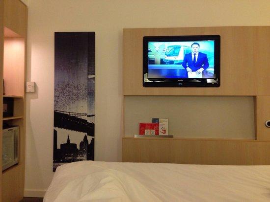 Novotel Moscow City : Viendo TV