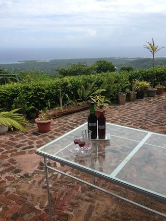 Liberty Hill Great House Resort & Spa: Pimento Wine