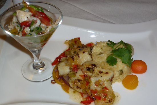 Chic: Conch prepared two ways
