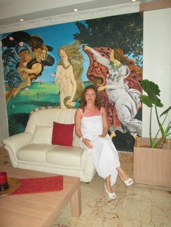 Manolya Hotel: lobi