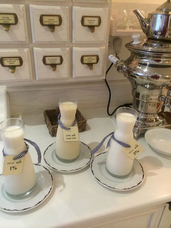 Shalom Hotel & Relax Tel Aviv - an Atlas Boutique Hotel : Only hotel in Israel that serves soy milk.