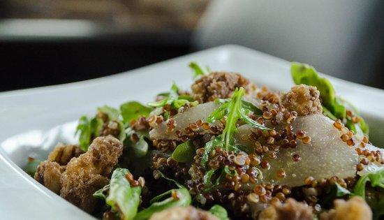 """Cork & Cuisine : Quinoa & Pear Salad"""""""