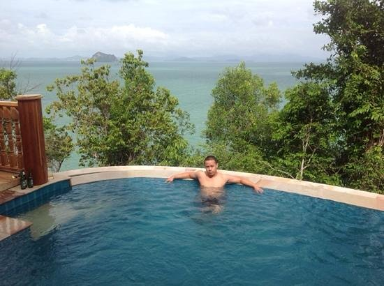Santhiya Koh Phangan Resort & Spa: pool view...