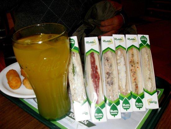 Hotel Mayorazgo: los sándwiches que comenté