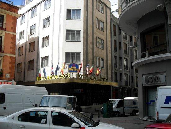 Hotel Mayorazgo: frente del hotel