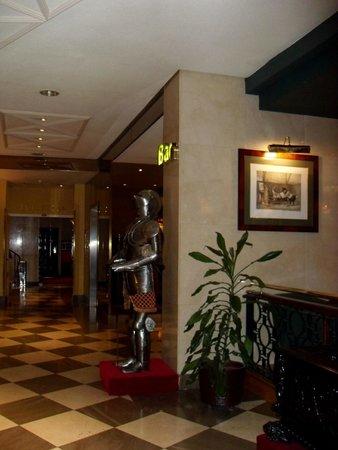 Hotel Mayorazgo: interior del hotel