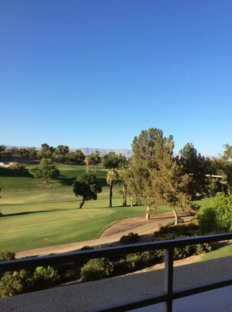 Hyatt Regency Indian Wells Resort & Spa: Golf course view.