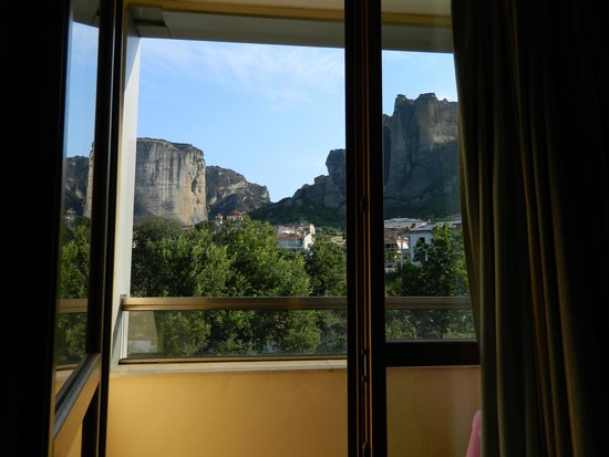 Divani Meteora Hotel: view from the room