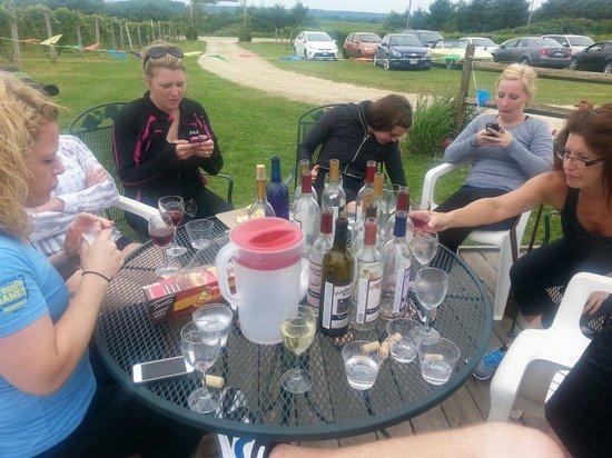 Massbach Ridge Winery: It's a great time.